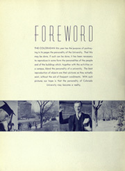 Page 8, 1938 Edition, University of Colorado - Coloradan Yearbook (Boulder, CO) online yearbook collection