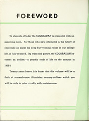 Page 10, 1939 Edition, University of Colorado - Coloradan Yearbook (Boulder, CO) online yearbook collection
