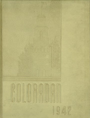Page 1, 1942 Edition, University of Colorado - Coloradan Yearbook (Boulder, CO) online yearbook collection