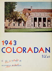 Page 8, 1943 Edition, University of Colorado - Coloradan Yearbook (Boulder, CO) online yearbook collection