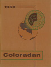 1958 Edition, University of Colorado - Coloradan Yearbook (Boulder, CO)