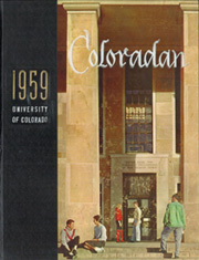 1959 Edition, University of Colorado - Coloradan Yearbook (Boulder, CO)