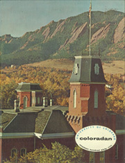 1961 Edition, University of Colorado - Coloradan Yearbook (Boulder, CO)