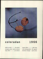 Page 7, 1966 Edition, University of Colorado - Coloradan Yearbook (Boulder, CO) online yearbook collection