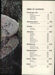 Page 9, 1966 Edition, University of Colorado - Coloradan Yearbook (Boulder, CO) online yearbook collection