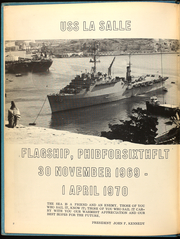 Page 6, 1970 Edition, La Salle (LPD 3) - Naval Cruise Book online yearbook collection