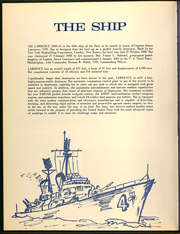 Page 6, 1971 Edition, Lawrence (DDG 4) - Naval Cruise Book online yearbook collection