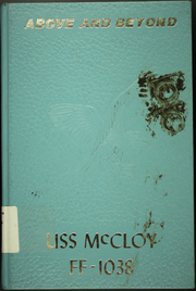 1987 Edition, McCloy (FF 1038) - Naval Cruise Book
