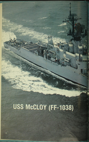 Page 8, 1987 Edition, McCloy (FF 1038) - Naval Cruise Book online yearbook collection