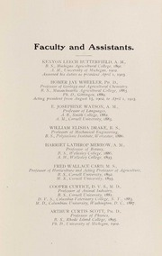 Page 17, 1904 Edition, University of Rhode Island - Grist Yearbook (Kingston, RI) online yearbook collection