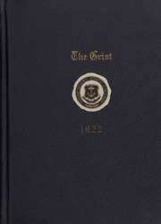 University of Rhode Island - Grist Yearbook (Kingston, RI) online yearbook collection, 1922 Edition, Page 1