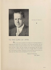 Page 11, 1934 Edition, University of Rhode Island - Grist Yearbook (Kingston, RI) online yearbook collection