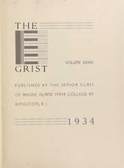 Page 9, 1934 Edition, University of Rhode Island - Grist Yearbook (Kingston, RI) online yearbook collection