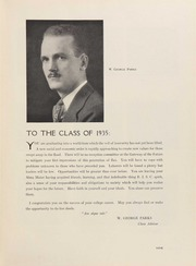 Page 13, 1935 Edition, University of Rhode Island - Grist Yearbook (Kingston, RI) online yearbook collection