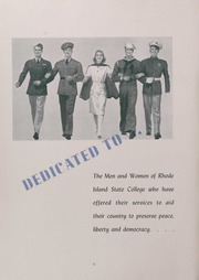 Page 10, 1942 Edition, University of Rhode Island - Grist Yearbook (Kingston, RI) online yearbook collection
