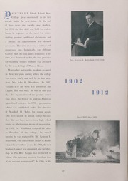Page 16, 1942 Edition, University of Rhode Island - Grist Yearbook (Kingston, RI) online yearbook collection