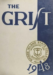 1948 Edition, University of Rhode Island - Grist Yearbook (Kingston, RI)