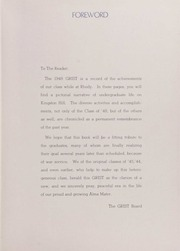 Page 7, 1948 Edition, University of Rhode Island - Grist Yearbook (Kingston, RI) online yearbook collection