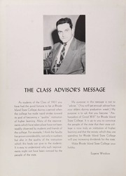 Page 10, 1951 Edition, University of Rhode Island - Grist Yearbook (Kingston, RI) online yearbook collection
