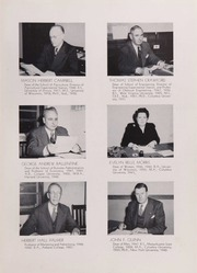 Page 15, 1951 Edition, University of Rhode Island - Grist Yearbook (Kingston, RI) online yearbook collection