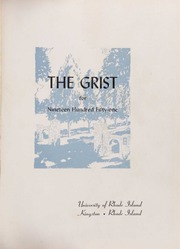 Page 5, 1951 Edition, University of Rhode Island - Grist Yearbook (Kingston, RI) online yearbook collection