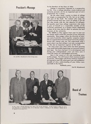 Page 10, 1952 Edition, University of Rhode Island - Grist Yearbook (Kingston, RI) online yearbook collection