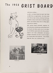 Page 12, 1952 Edition, University of Rhode Island - Grist Yearbook (Kingston, RI) online yearbook collection