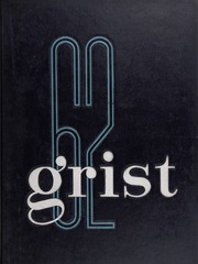 Page 1, 1962 Edition, University of Rhode Island - Grist Yearbook (Kingston, RI) online yearbook collection