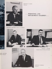 Page 17, 1963 Edition, University of Rhode Island - Grist Yearbook (Kingston, RI) online yearbook collection