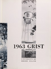 Page 7, 1963 Edition, University of Rhode Island - Grist Yearbook (Kingston, RI) online yearbook collection