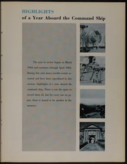 Page 13, 1965 Edition, Northampton (CC 1) - Naval Cruise Book online yearbook collection