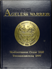 1990 Edition, Coral Sea (CV 43) - Naval Cruise Book