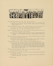 Page 12, 1899 Edition, Cornell University - Cornellian Yearbook (Ithaca, NY) online yearbook collection
