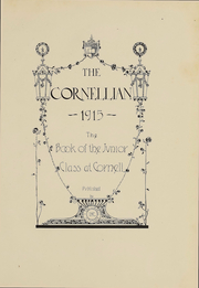 Page 7, 1915 Edition, Cornell University - Cornellian Yearbook (Ithaca, NY) online yearbook collection