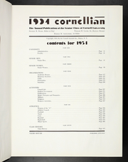 Page 11, 1934 Edition, Cornell University - Cornellian Yearbook (Ithaca, NY) online yearbook collection