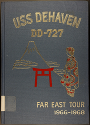 1968 Edition, DeHaven (DD 727) - Naval Cruise Book