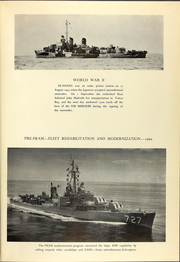 Page 13, 1968 Edition, DeHaven (DD 727) - Naval Cruise Book online yearbook collection