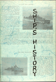 Page 9, 1968 Edition, DeHaven (DD 727) - Naval Cruise Book online yearbook collection