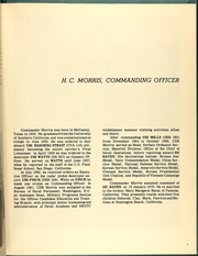 Page 11, 1971 Edition, DeHaven (DD 727) - Naval Cruise Book online yearbook collection