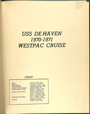 Page 5, 1971 Edition, DeHaven (DD 727) - Naval Cruise Book online yearbook collection