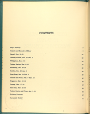 Page 6, 1971 Edition, DeHaven (DD 727) - Naval Cruise Book online yearbook collection