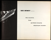 Page 7, 1961 Edition, Dewey (DLG 14) - Naval Cruise Book online yearbook collection