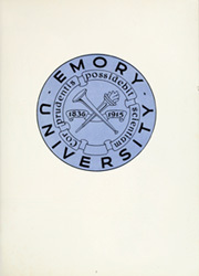Page 7, 1951 Edition, Emory University - Campus Yearbook (Atlanta, GA) online yearbook collection
