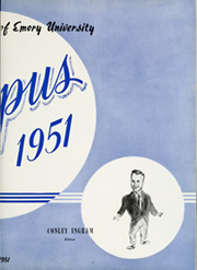 Page 9, 1951 Edition, Emory University - Campus Yearbook (Atlanta, GA) online yearbook collection