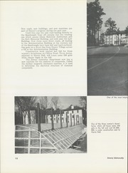 Page 16, 1958 Edition, Emory University - Campus Yearbook (Atlanta, GA) online yearbook collection