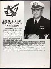 Page 7, 1982 Edition, Elmer Montgomery (FF 1082) - Naval Cruise Book online yearbook collection