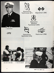 Page 8, 1982 Edition, Elmer Montgomery (FF 1082) - Naval Cruise Book online yearbook collection