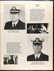 Page 7, 1985 Edition, Elmer Montgomery (FF 1082) - Naval Cruise Book online yearbook collection