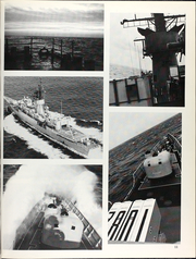 Page 15, 1987 Edition, Elmer Montgomery (FF 1082) - Naval Cruise Book online yearbook collection