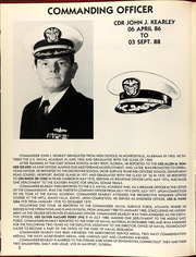 Page 6, 1988 Edition, Elmer Montgomery (FF 1082) - Naval Cruise Book online yearbook collection